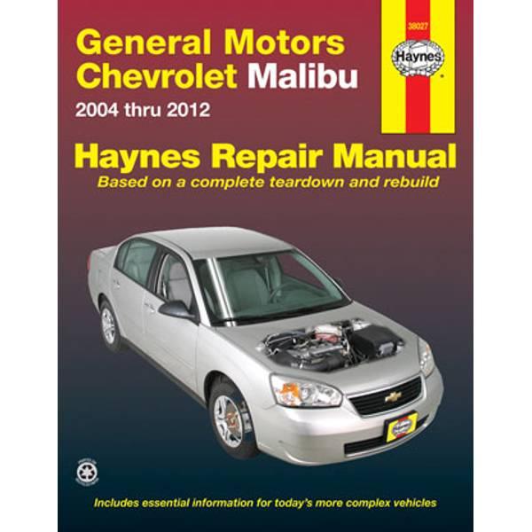 GM: Chevrolet Malibu, '04-'12 Manual