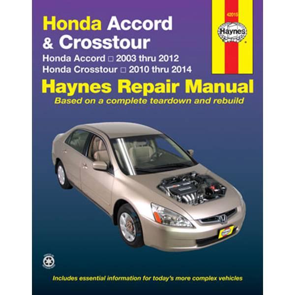Honda Accord (03-12) & Crosstour (10-14) Manual