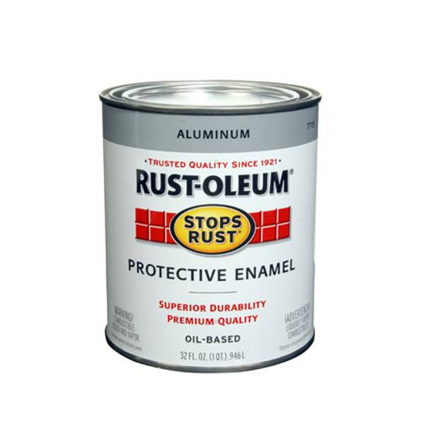 1 Quart Protective Gloss Enamel Oil Based Paint