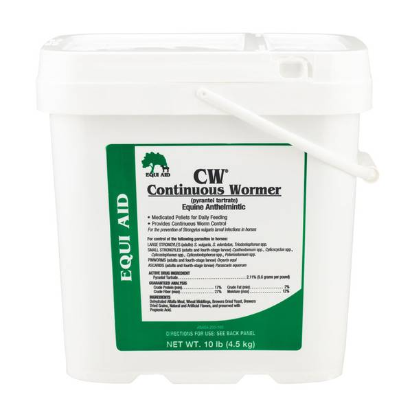 CW Continuous Horse Dewormer