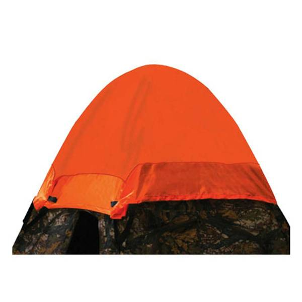 Blaze Orange Safety Cap for Sniper Blinds