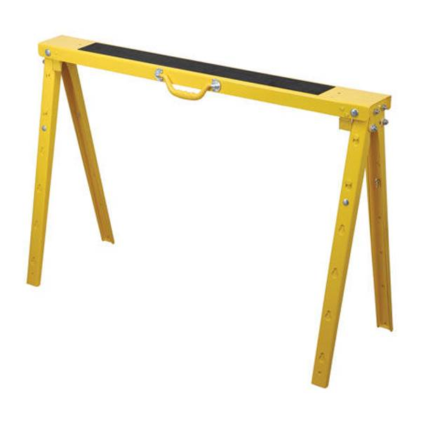 Duracraft Pro Folding Metal Adjustable Sawhorse At Blain S