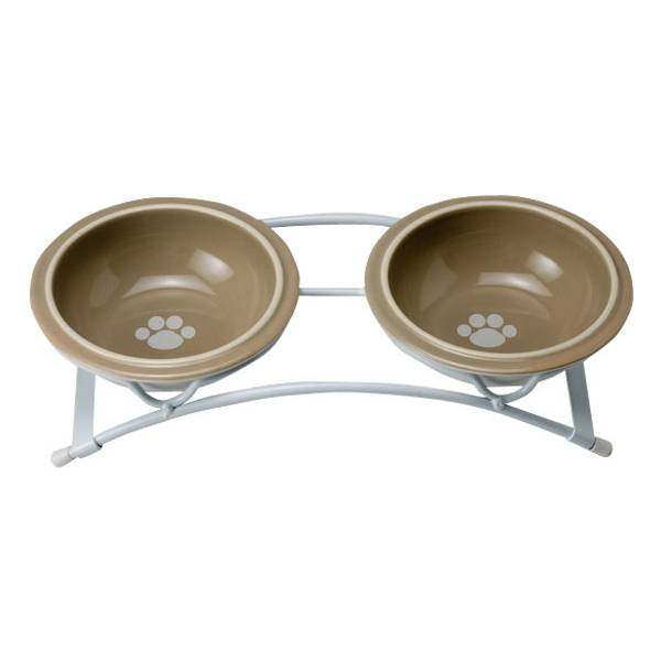Toftee's Paws Feeder and Bowl Set