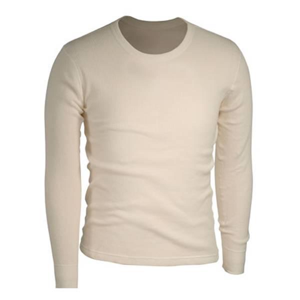 Men's Cotton Waffle Thermal Underwear Crew