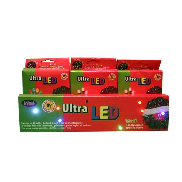 Battery Operated Micro Christmas Light Decoration Assortment