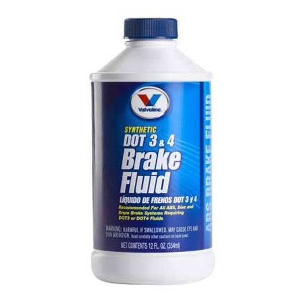 Synthetic DOT 3 & 4 Brake Fluid