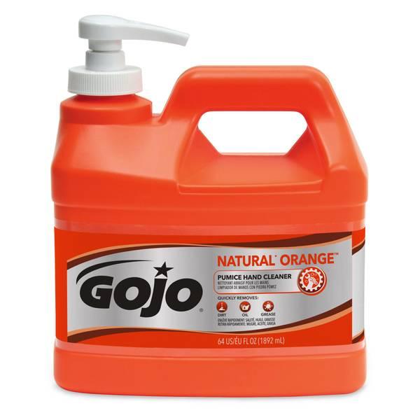 gojo orange pumice hand cleaner