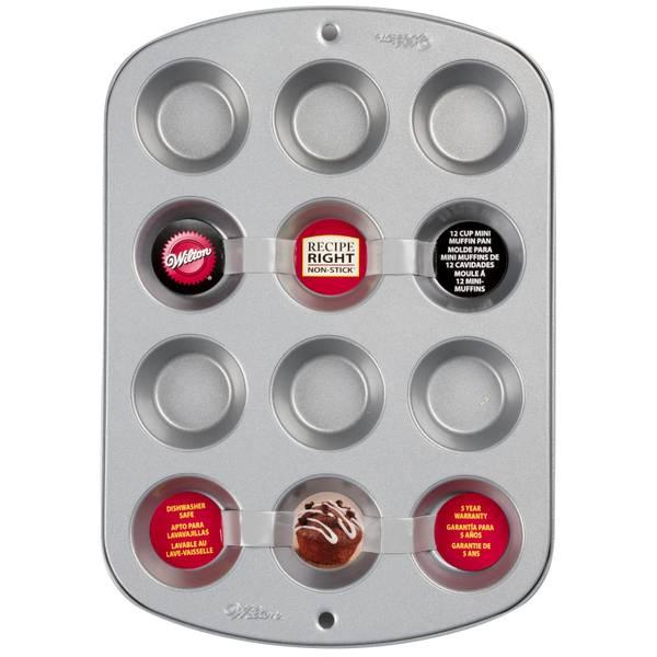 Recipe Right Mini Muffin Pan