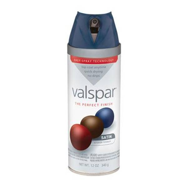 Valspar Black Enamel Spray Paint