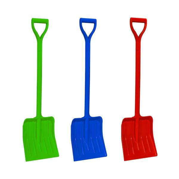 Plastic Kiddie Shovel Assortemnt