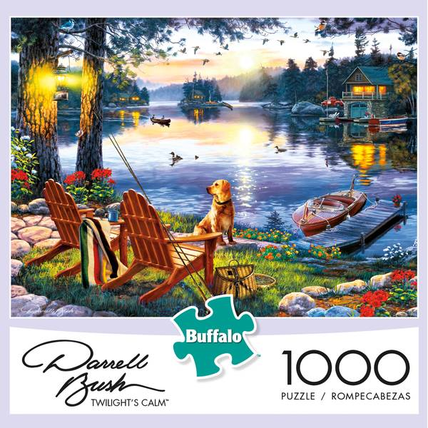 Darrell Bush Loon Lake Jigsaw Puzzle Assortment