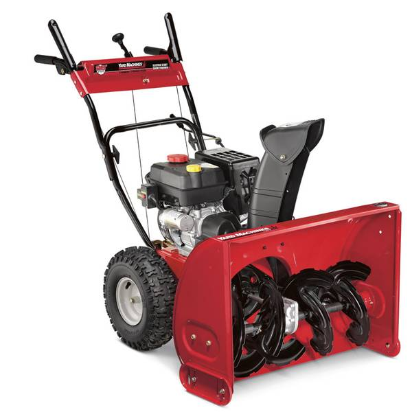 Yard Machines By Mtd Two Stage Snow Blower
