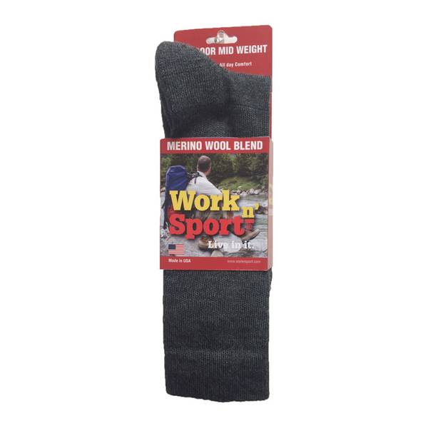 Men's Iso Wool Boot Socks