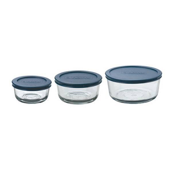 anchor 6 kitchen storage container set