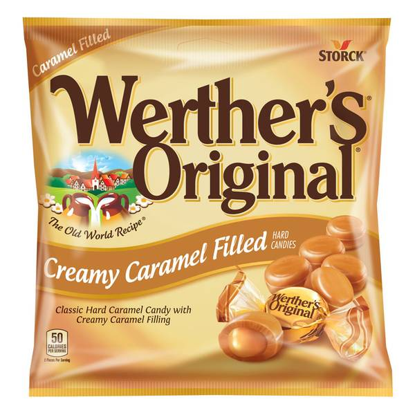 Creamy Caramel Filled Hard Candy