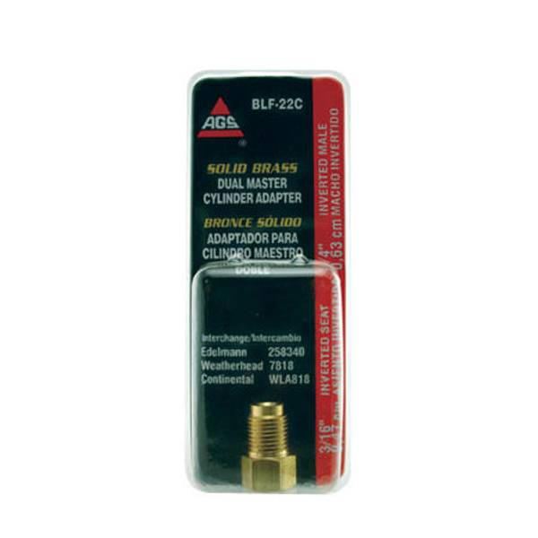 3/16 to 1/4 Std. Adapter