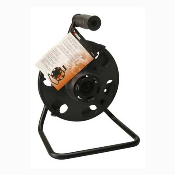 Cord Reel with Metal Stand