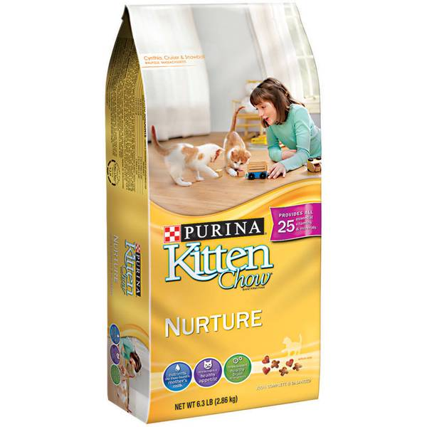 Kitten Chow Nurturing Formula Kitten Food