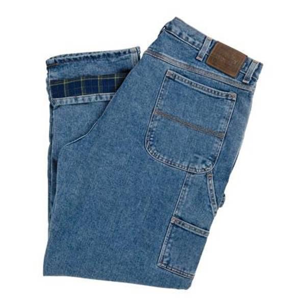 Work N Sport Men S Flannel Lined Carpenter Jeans At Blain