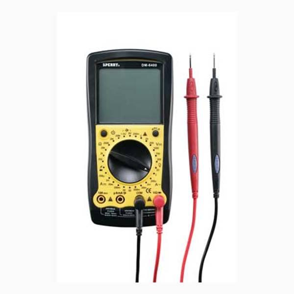 8 Function Manual Range Digital Multimeter