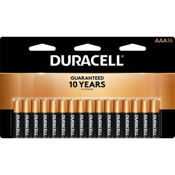 """AAA"" Coppertop Alkaline Battery - 16 Pack"