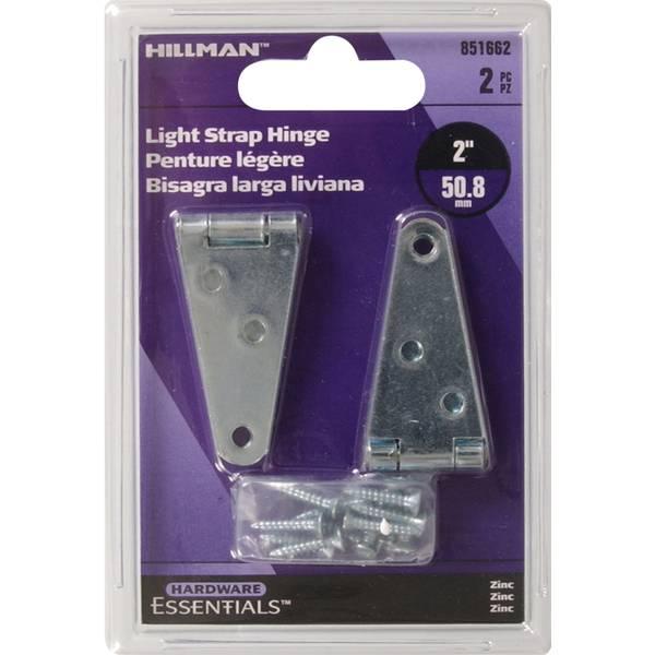 "2"" Light Duty Strap Hinge"