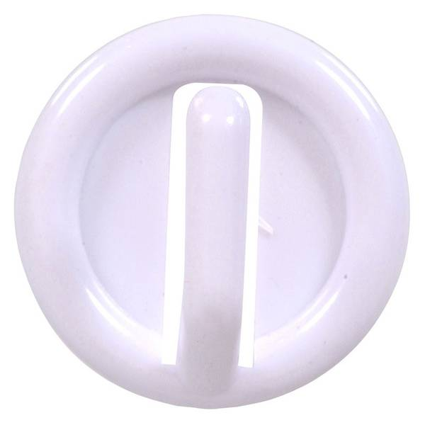 White Plastic Hook