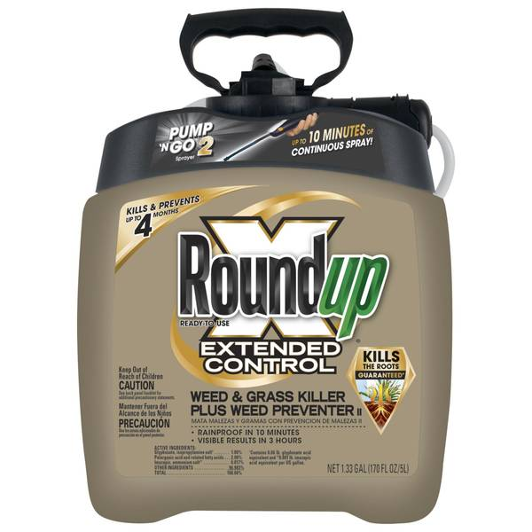 Extended Control Weed & Grass Killer Plus Weed Preventer II Ready-To-Use