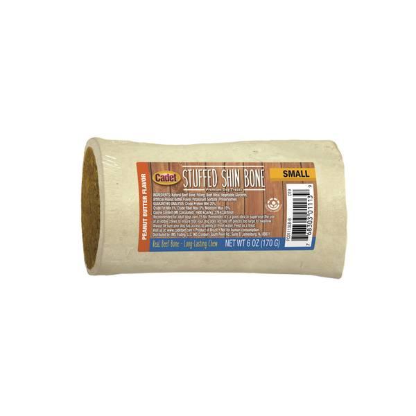 Peanut Butter Flavored Stuffed Shin Bone