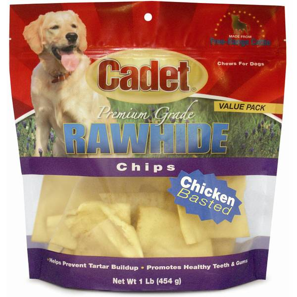 Flavored Rawhide Chips