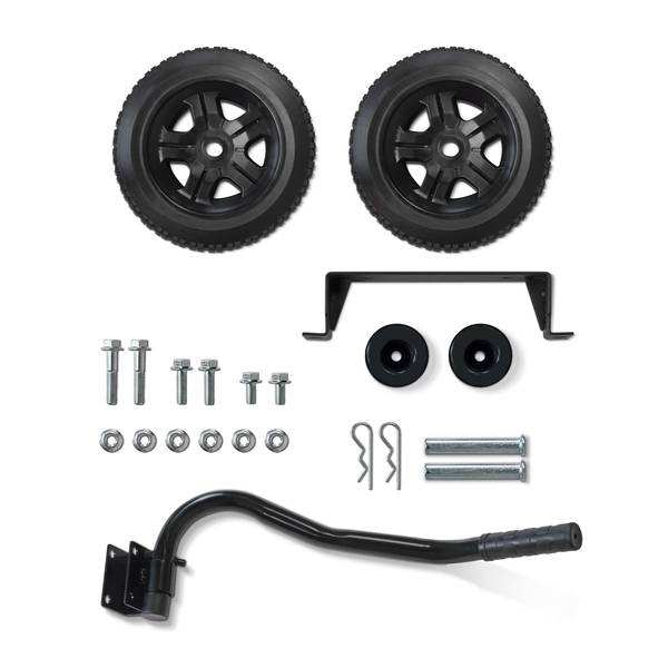 3000-4000 Watt Generator Wheel Kit with Folding Handle and Never-Flat Tires