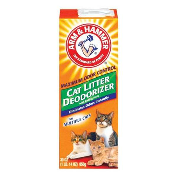 Cat Litter Deodorizer with BakingSoda