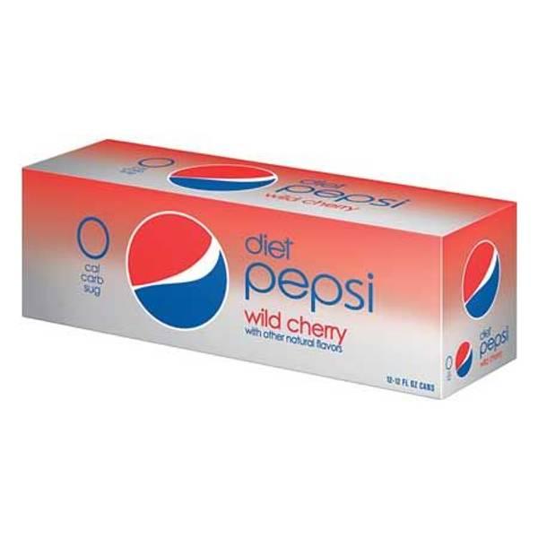 Diet Cherry Pepsi - 12 Pack