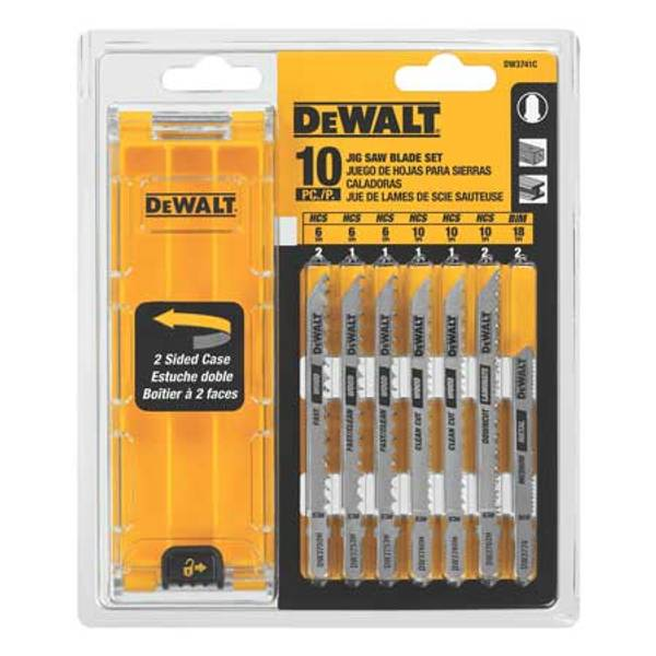 10 Piece Jigsaw Blade Set