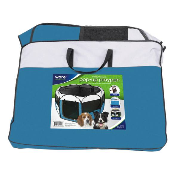 Ware Deluxe Pop Up Dog Playpen
