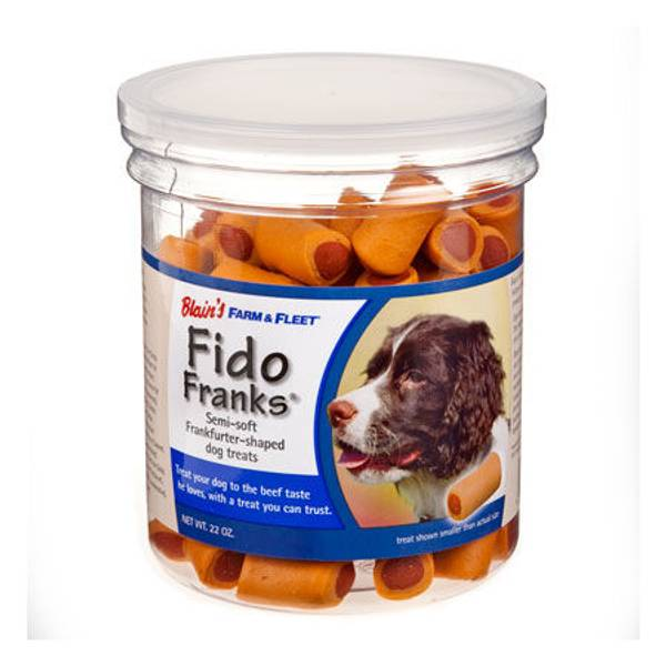 Fido Franks Hot Dog Shaped Dog Treats