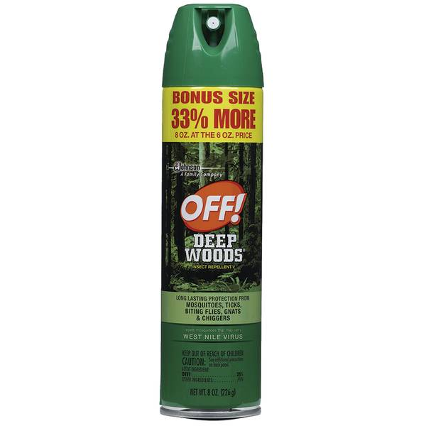 Deep Woods Aerosol Repellent with 33% Free