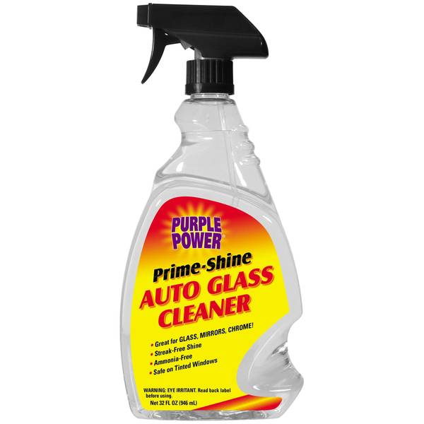 Purple Power Prime Shine Auto Glass Cleaner