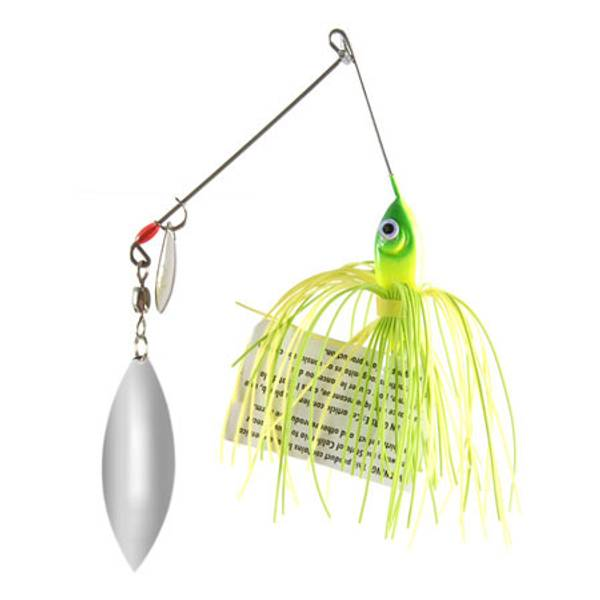 Strike King Chartreuse and Lime Spinnerbait