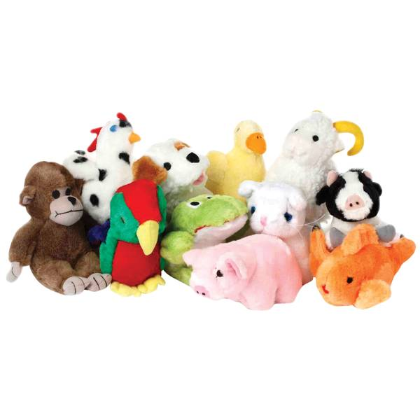 Look Who's Talking Stuffed Dog Toy Assortment