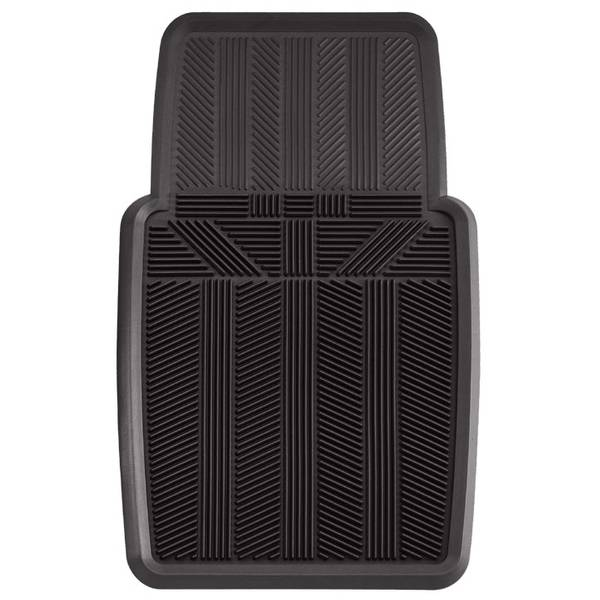 1-Piece Premium Multi-Season Extra Heavy Duty Rubber Car, Truck and SUV Front Mat