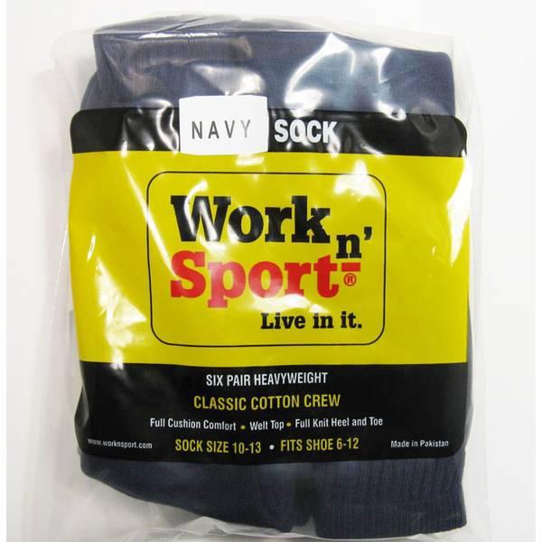 Crew Socks 6 Pack