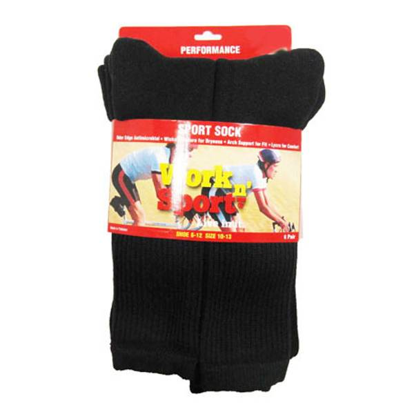 Performance Sport Crew Socks