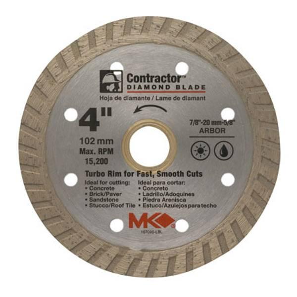 Contractor Turbo Rim Blades