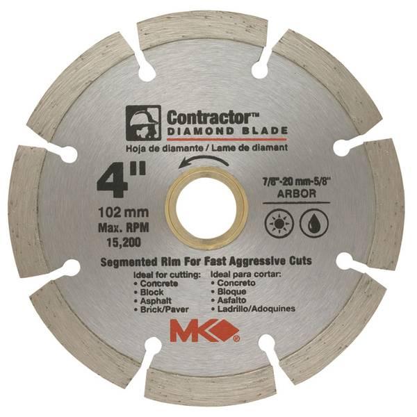 Contractor Segmented Rim Blades