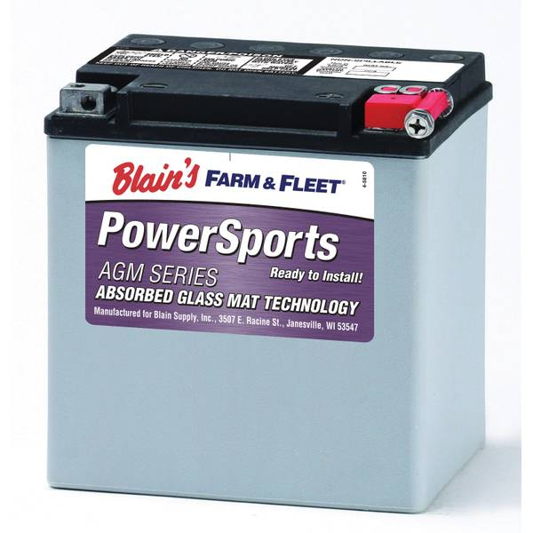 30 LBS AGM Powersport Battery