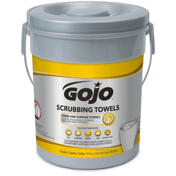 Scrubbing Wipes Canister