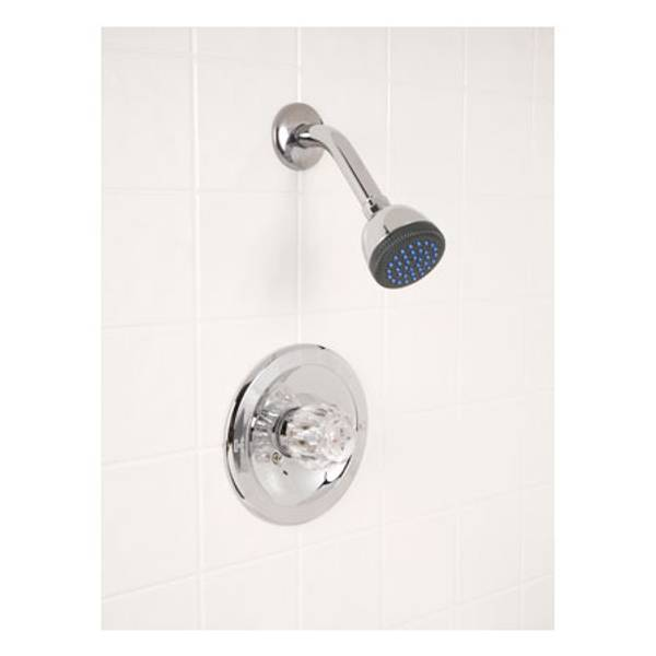 One Handle Fixed Shower Faucet & Shower Head