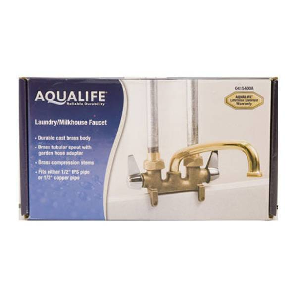 Two Handle Dairy House Faucet