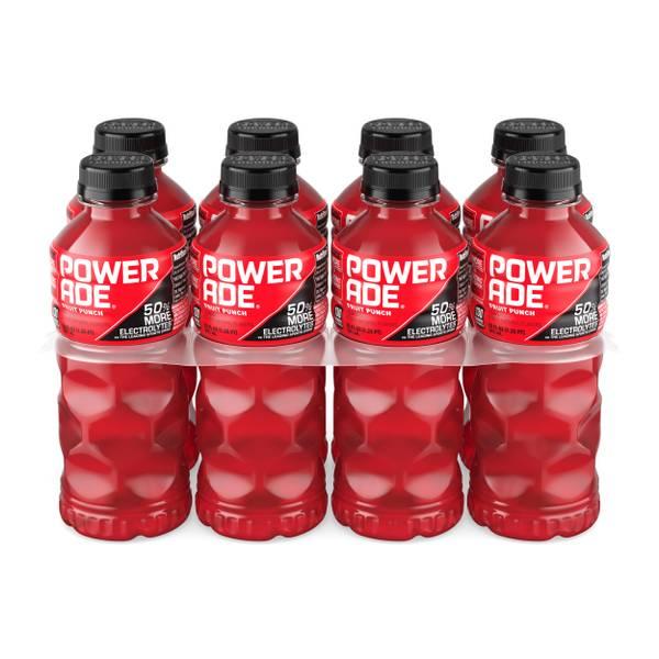 POWERADE Fruit Punch, 8 ct, 20 FL OZ Bottle